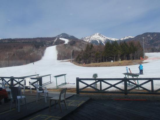 この日はさすがに・・・|サンメドウズ清里スキー場のクチコミ画像