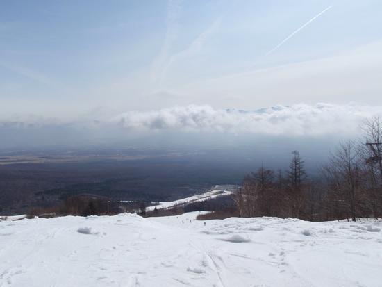 この日はさすがに・・・ サンメドウズ清里スキー場のクチコミ画像2