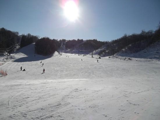 西向き斜面で雪質良好~♪|ホワイトピアたかすのクチコミ画像