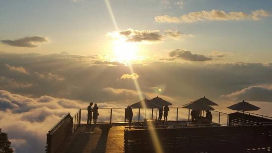 サンセットが綺麗な場所|竜王スキーパークのクチコミ画像