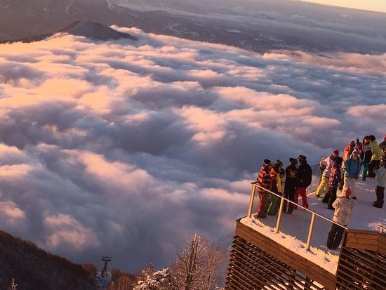 サンセットが綺麗な場所 竜王スキーパークのクチコミ画像2