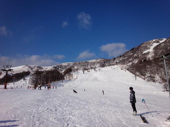 雪が少ないなりに楽しめました。|ハチ・ハチ北スキー場のクチコミ画像