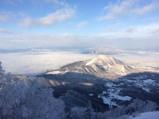 冬も雲海絶景!空いてて雪質もOK!|竜王スキーパークのクチコミ画像1