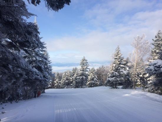 冬も雲海絶景!空いてて雪質もOK!|竜王スキーパークのクチコミ画像2