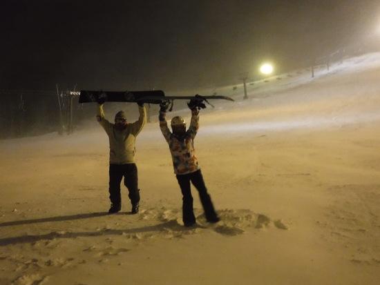 ナイター万座で初体験|万座温泉スキー場のクチコミ画像
