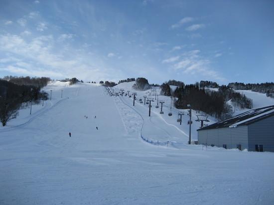 いっぱいいろいろな滑りを楽しみたい人に|鳥海高原矢島スキー場のクチコミ画像