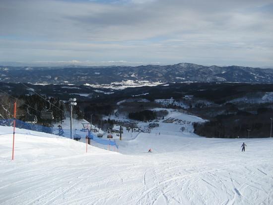 いっぱいいろいろな滑りを楽しみたい人に 鳥海高原矢島スキー場のクチコミ画像2