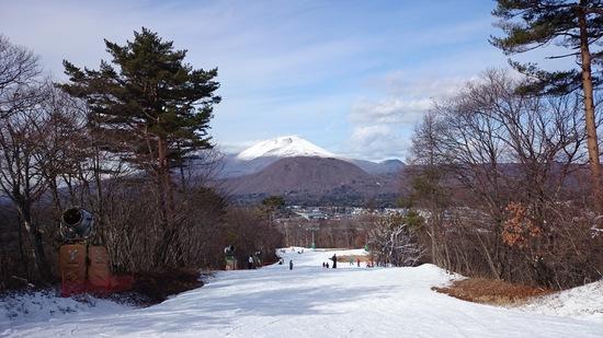 シーズン初滑り|軽井沢プリンスホテルスキー場のクチコミ画像1