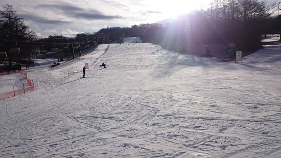 シーズン初滑り|軽井沢プリンスホテルスキー場のクチコミ画像2
