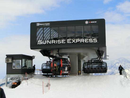 かっこいいリフトです|石打丸山スキー場のクチコミ画像2