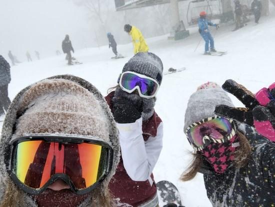 12月中旬なのにパウダー最高|たんばらスキーパークのクチコミ画像