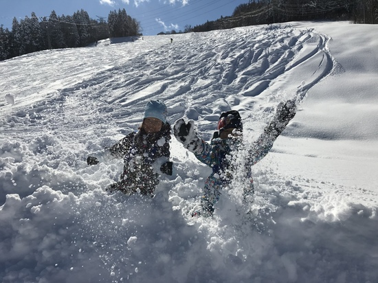 ピーカン☆パウダー!|かぐらスキー場のクチコミ画像