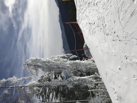 初滑り!|富士見パノラマリゾートのクチコミ画像