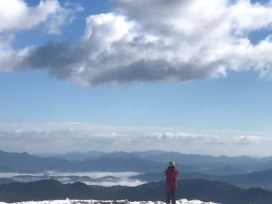 良い天気で最高の笑顔|神鍋高原 万場スキー場のクチコミ画像3