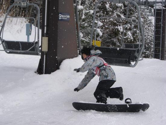 アクセス最高!ビギナー向け|ノルン水上スキー場のクチコミ画像2