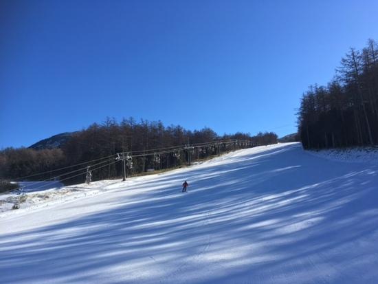 スノーボード向きのゲレンデ 湯の丸スキー場のクチコミ画像2