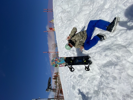 僕?じゃ無くてガール!|かぐらスキー場のクチコミ画像