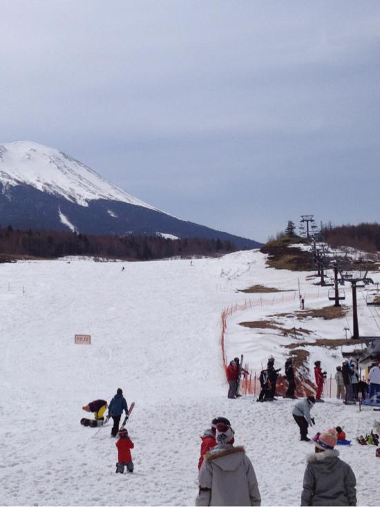 昨日に引き続きいい天気|開田高原マイアスキー場のクチコミ画像