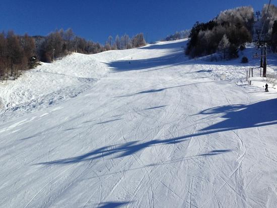滑りごたえあります!|信州松本 野麦峠スキー場のクチコミ画像