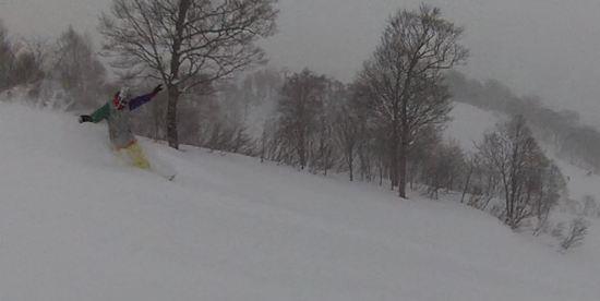 First Track @ Shige!|かぐらスキー場のクチコミ画像
