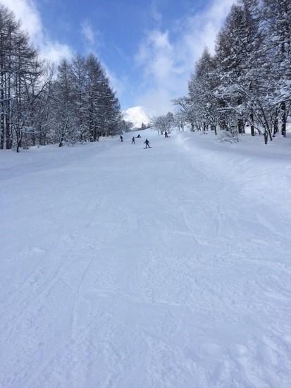 快晴!|赤倉温泉スキー場のクチコミ画像