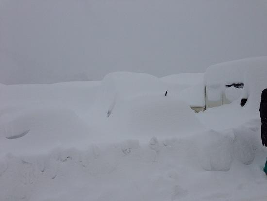 雪の量が凄い 奥只見丸山スキー場のクチコミ画像