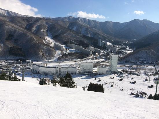 久しぶりに|苗場スキー場のクチコミ画像