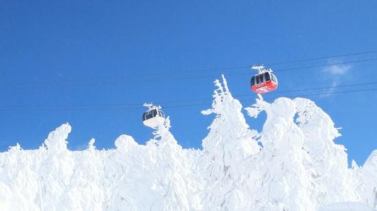束の間の晴天|蔵王温泉スキー場のクチコミ画像