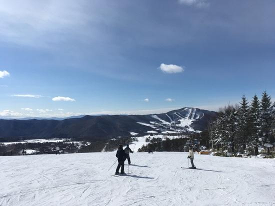 とても広くバラエティに富んだゲレンデ|菅平高原スノーリゾートのクチコミ画像