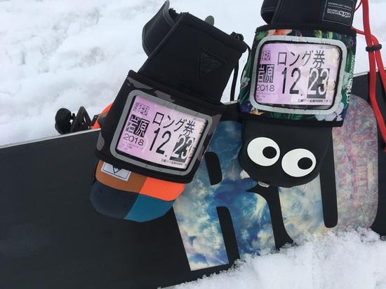 2018-2019初滑り|岩原スキー場のクチコミ画像