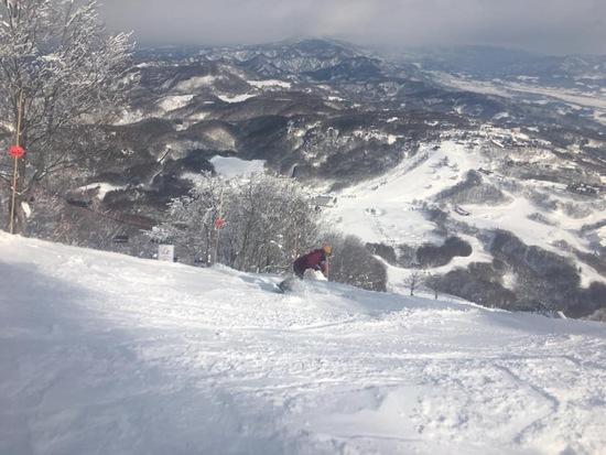 下界まで一直線|斑尾高原スキー場のクチコミ画像