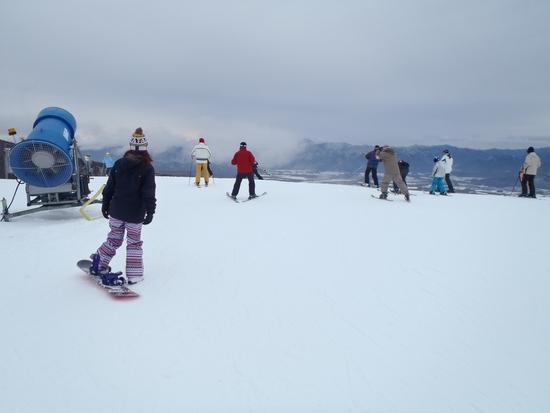 山頂の様子|サンメドウズ清里スキー場のクチコミ画像