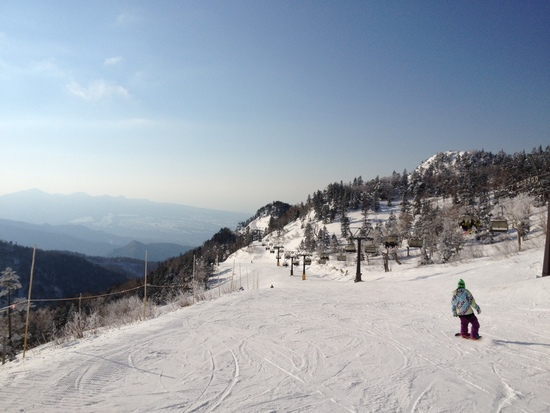 1/2快晴|川場スキー場のクチコミ画像