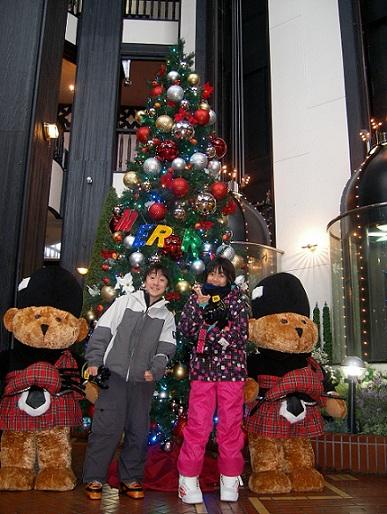 クリスマスの雰囲気最高|白馬コルチナスキー場のクチコミ画像