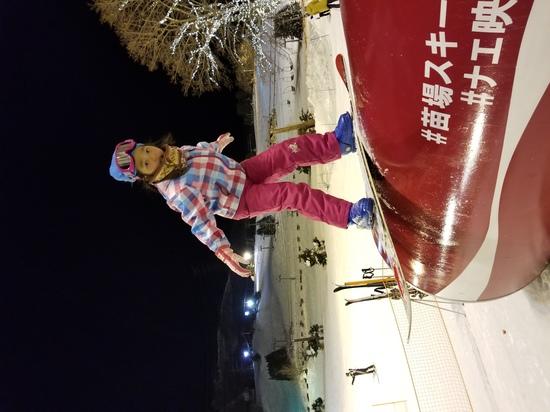 初めてのボード☆|苗場スキー場のクチコミ画像