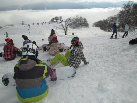 雲海ゲレンデに挑む!|戸狩温泉スキー場のクチコミ画像3
