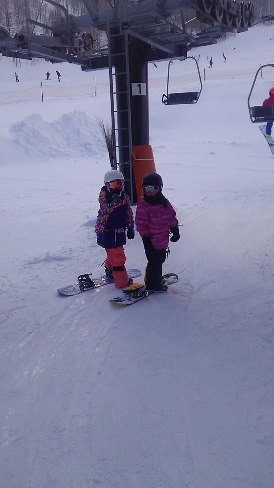 お友達と|オグナほたかスキー場のクチコミ画像2