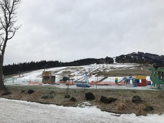 雪がない|スキージャム勝山のクチコミ画像