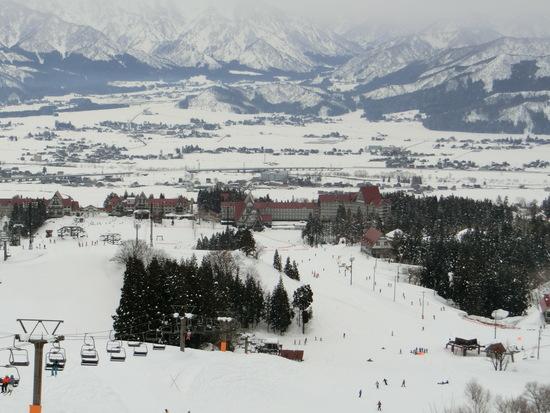 晴天の中スキー楽しみました 上越国際スキー場のクチコミ画像