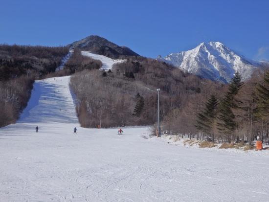 八ヶ岳がきれいでした|サンメドウズ清里スキー場のクチコミ画像