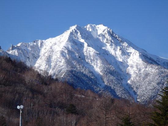 八ヶ岳がきれいでした|サンメドウズ清里スキー場のクチコミ画像2