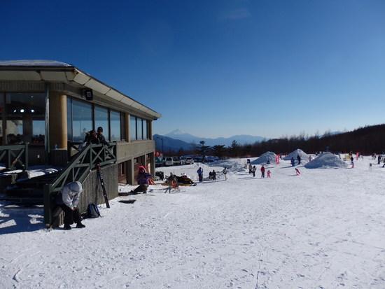 八ヶ岳がきれいでした|サンメドウズ清里スキー場のクチコミ画像3