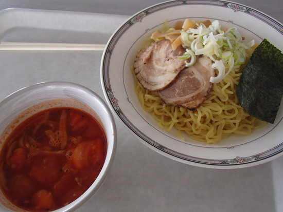 レストハウスのトマトつけ麺が美味しい♪|さかえ倶楽部スキー場のクチコミ画像