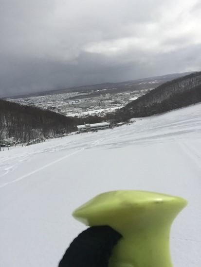 地元の方に聞いて正解、練習にバッチリのバーンでした!|SNOW CRUISE ONZEのクチコミ画像2