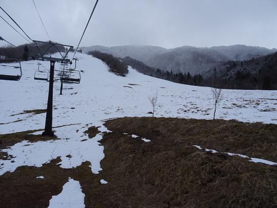 今年は雪が少ないです|エイブル白馬五竜のクチコミ画像