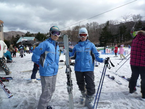 バーゲンとそしてスキー|軽井沢プリンスホテルスキー場のクチコミ画像