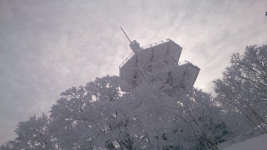 正月明けの雪量ではない!|野沢温泉スキー場のクチコミ画像
