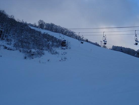 リーセ゛ンスラロームコースは|白馬八方尾根スキー場のクチコミ画像