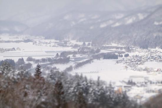 初級は中央、中級は上下、上級は上|会津高原南郷スキー場のクチコミ画像