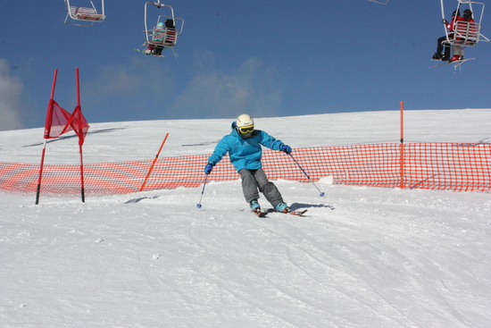 かりかりでも楽しい|車山高原SKYPARKスキー場のクチコミ画像